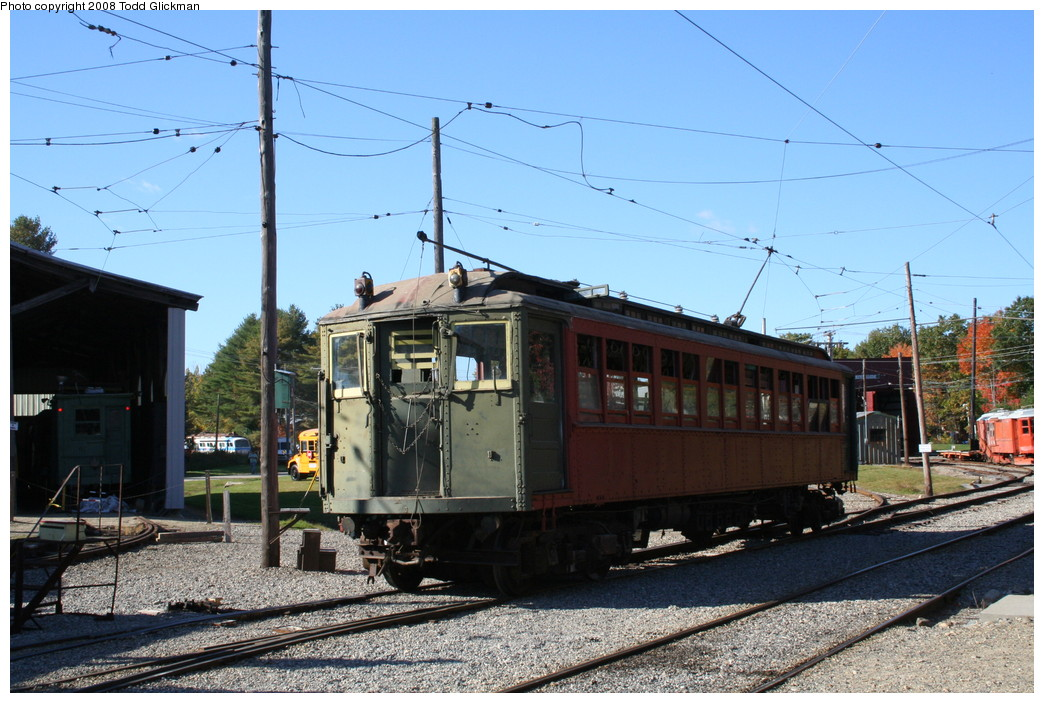 (233k, 1044x703)<br><b>Country:</b> United States<br><b>City:</b> Kennebunk, ME<br><b>System:</b> Seashore Trolley Museum <br><b>Car:</b> Hi-V 3352 <br><b>Photo by:</b> Todd Glickman<br><b>Date:</b> 10/11/2008<br><b>Viewed (this week/total):</b> 1 / 668