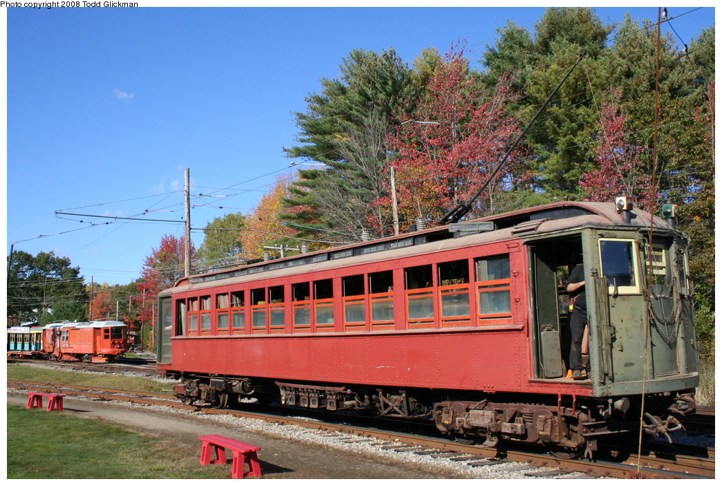 (300k, 1044x703)<br><b>Country:</b> United States<br><b>City:</b> Kennebunk, ME<br><b>System:</b> Seashore Trolley Museum <br><b>Car:</b> Hi-V 3352 <br><b>Photo by:</b> Todd Glickman<br><b>Date:</b> 10/11/2008<br><b>Viewed (this week/total):</b> 4 / 917