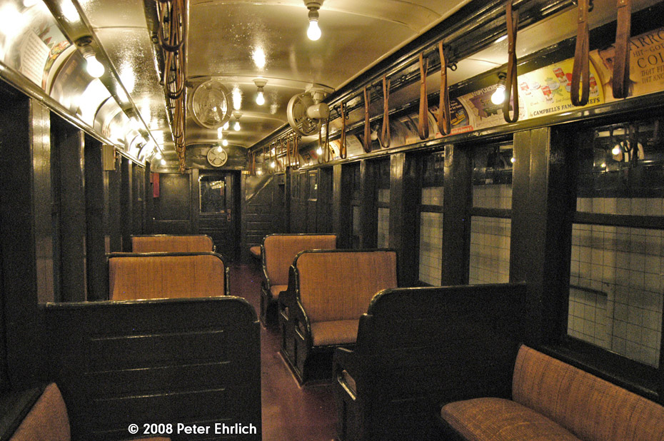 (271k, 930x618)<br><b>Country:</b> United States<br><b>City:</b> New York<br><b>System:</b> New York City Transit<br><b>Location:</b> New York Transit Museum<br><b>Car:</b> BMT Q 1612C <br><b>Photo by:</b> Peter Ehrlich<br><b>Date:</b> 9/30/2008<br><b>Notes:</b> Interior of BMT Q 1612 C.<br><b>Viewed (this week/total):</b> 8 / 1381