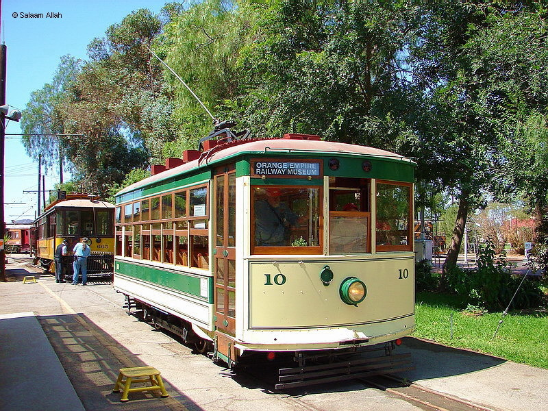 (284k, 800x600)<br><b>Country:</b> United States<br><b>City:</b> Perris, CA<br><b>System:</b> Orange Empire Railway Museum <br><b>Car:</b>  10 <br><b>Photo by:</b> Salaam Allah<br><b>Date:</b> 7/13/2007<br><b>Viewed (this week/total):</b> 0 / 430