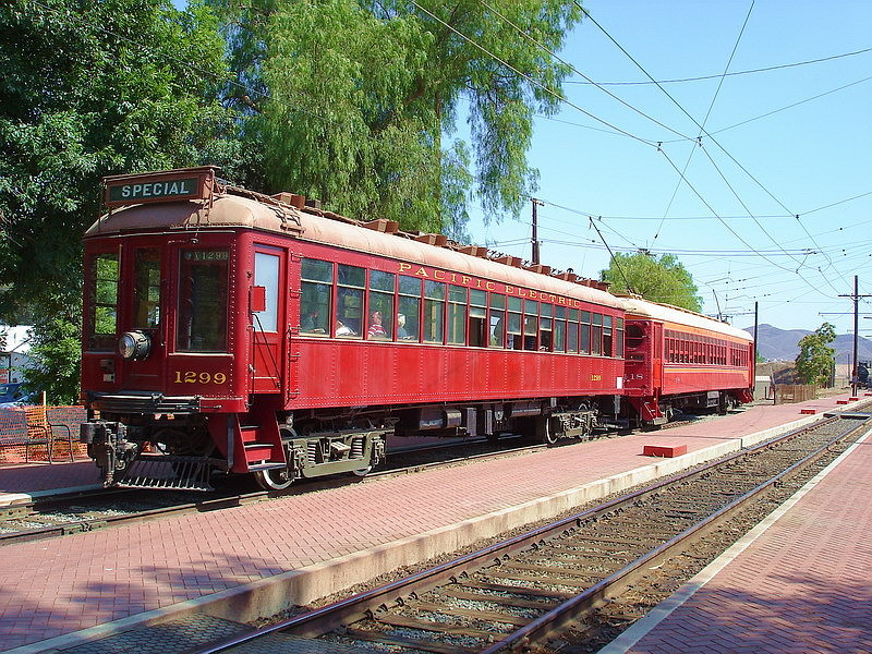 (253k, 800x600)<br><b>Country:</b> United States<br><b>City:</b> Perris, CA<br><b>System:</b> Orange Empire Railway Museum <br><b>Car:</b>  1299 <br><b>Photo by:</b> Salaam Allah<br><b>Date:</b> 7/13/2007<br><b>Viewed (this week/total):</b> 0 / 667