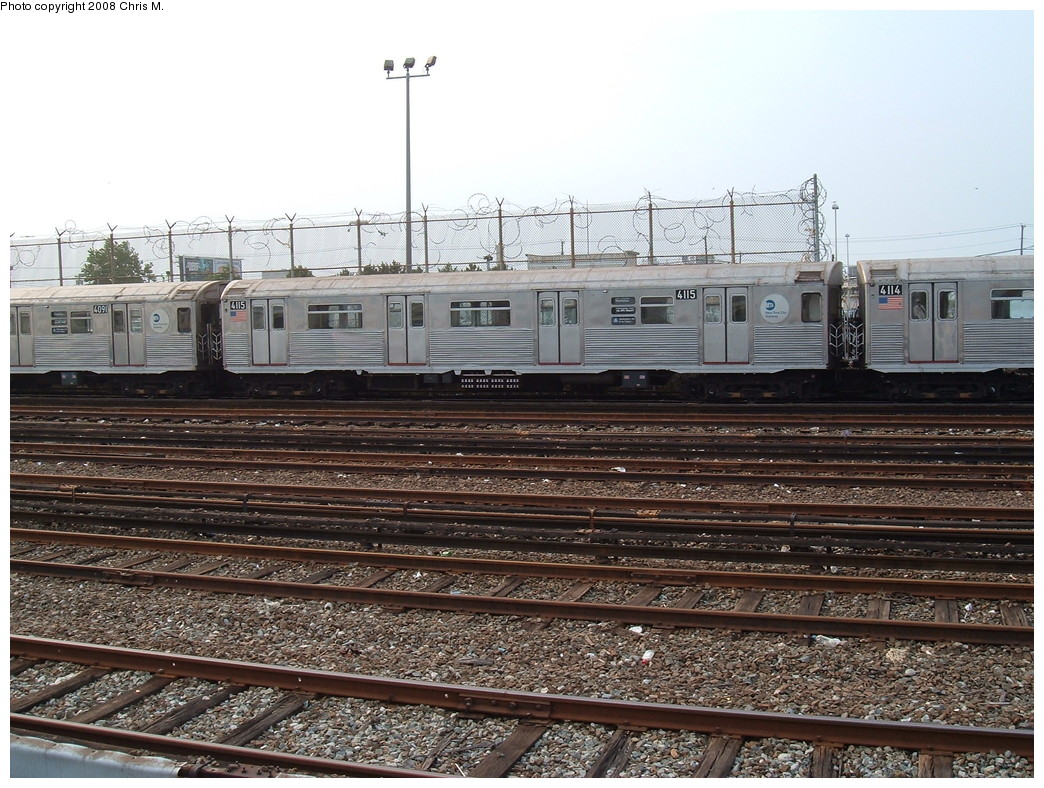 (275k, 1044x788)<br><b>Country:</b> United States<br><b>City:</b> New York<br><b>System:</b> New York City Transit<br><b>Location:</b> Rockaway Park Yard<br><b>Car:</b> R-38 (St. Louis, 1966-1967)  4115 <br><b>Photo by:</b> Chris M.<br><b>Date:</b> 7/22/2008<br><b>Viewed (this week/total):</b> 0 / 1060