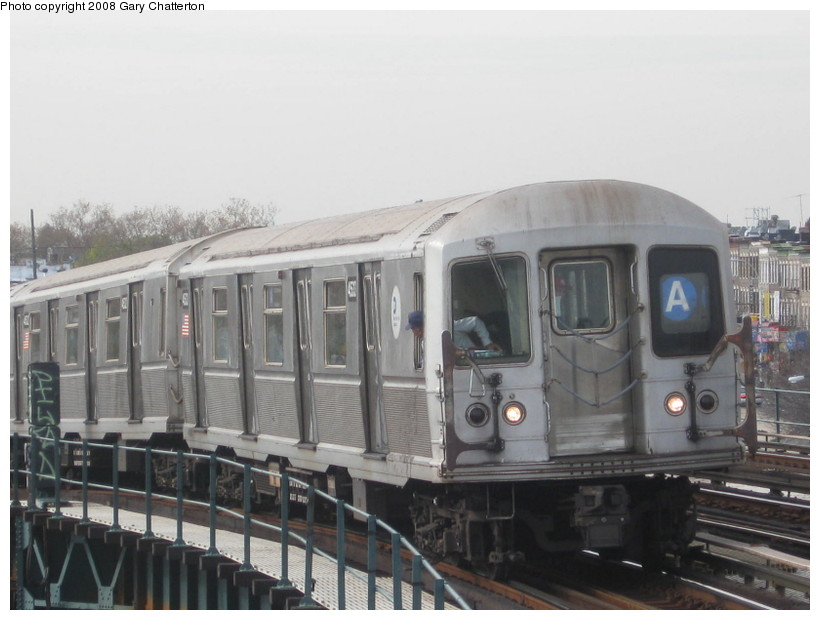 (111k, 820x620)<br><b>Country:</b> United States<br><b>City:</b> New York<br><b>System:</b> New York City Transit<br><b>Line:</b> IND Fulton Street Line<br><b>Location:</b> 80th Street/Hudson Street <br><b>Route:</b> A<br><b>Car:</b> R-40M (St. Louis, 1969)  4533 <br><b>Photo by:</b> Gary Chatterton<br><b>Date:</b> 11/12/2008<br><b>Viewed (this week/total):</b> 3 / 1093