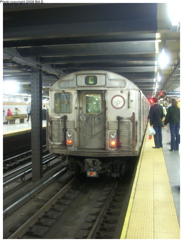 (147k, 620x820)<br><b>Country:</b> United States<br><b>City:</b> New York<br><b>System:</b> New York City Transit<br><b>Line:</b> IND 8th Avenue Line<br><b>Location:</b> 14th Street <br><b>Route:</b> C<br><b>Car:</b> R-38 (St. Louis, 1966-1967)  3971 <br><b>Photo by:</b> Bill E.<br><b>Date:</b> 9/27/2008<br><b>Viewed (this week/total):</b> 0 / 1672