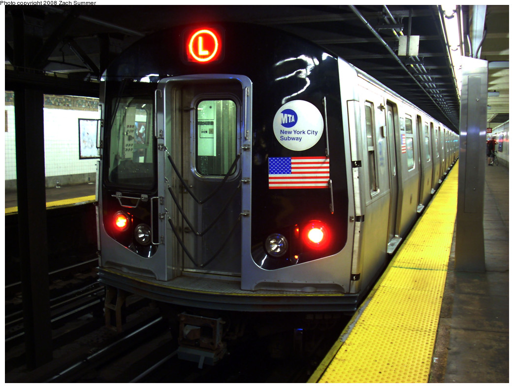 (245k, 1044x788)<br><b>Country:</b> United States<br><b>City:</b> New York<br><b>System:</b> New York City Transit<br><b>Line:</b> BMT Canarsie Line<br><b>Location:</b> 3rd Avenue <br><b>Route:</b> L<br><b>Car:</b> R-143 (Kawasaki, 2001-2002) 8304 <br><b>Photo by:</b> Zach Summer<br><b>Date:</b> 8/5/2008<br><b>Viewed (this week/total):</b> 0 / 1585