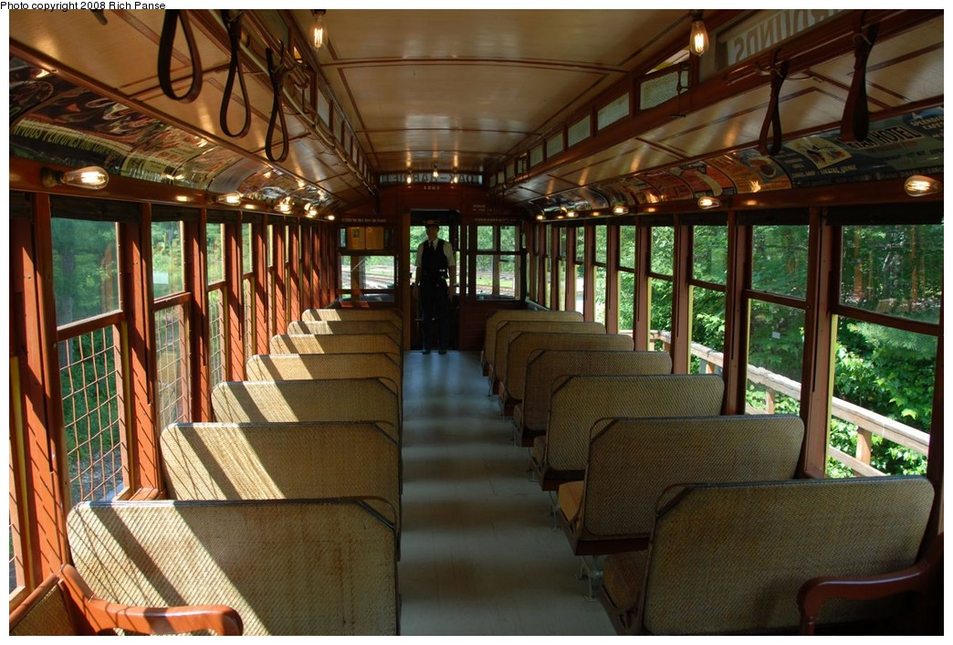 (246k, 1044x706)<br><b>Country:</b> United States<br><b>City:</b> Kennebunk, ME<br><b>System:</b> Seashore Trolley Museum <br><b>Car:</b>  1267 <br><b>Photo by:</b> Richard Panse<br><b>Date:</b> 7/18/2008<br><b>Viewed (this week/total):</b> 1 / 334