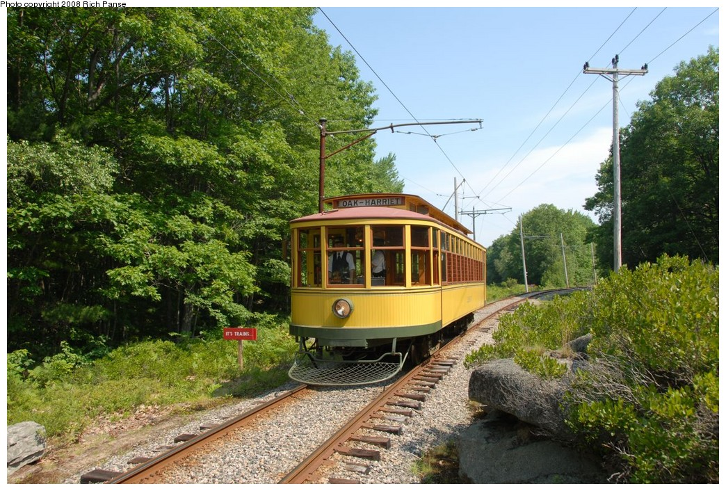 (314k, 1044x706)<br><b>Country:</b> United States<br><b>City:</b> Kennebunk, ME<br><b>System:</b> Seashore Trolley Museum <br><b>Car:</b>  1267 <br><b>Photo by:</b> Richard Panse<br><b>Date:</b> 7/18/2008<br><b>Viewed (this week/total):</b> 1 / 277