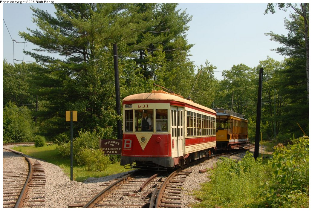 (310k, 1044x706)<br><b>Country:</b> United States<br><b>City:</b> Kennebunk, ME<br><b>System:</b> Seashore Trolley Museum <br><b>Car:</b> TARS 631 <br><b>Photo by:</b> Richard Panse<br><b>Date:</b> 7/18/2008<br><b>Viewed (this week/total):</b> 1 / 266