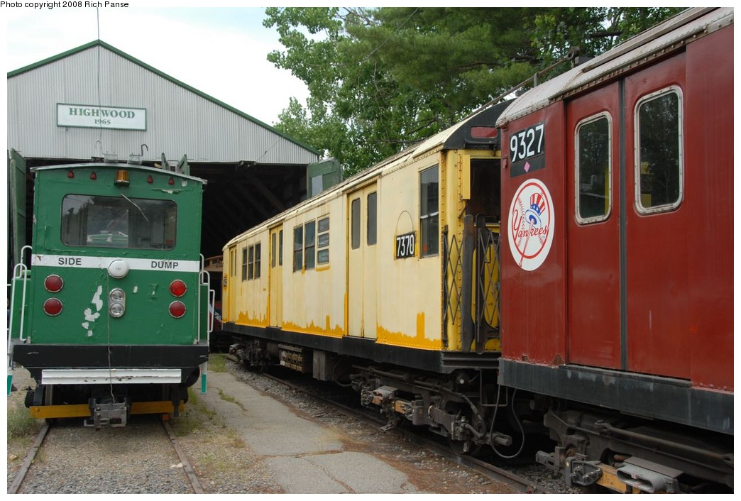 (224k, 1044x706)<br><b>Country:</b> United States<br><b>City:</b> Kennebunk, ME<br><b>System:</b> Seashore Trolley Museum <br><b>Car:</b> R-22 (St. Louis, 1957-58) 37371 <br><b>Photo by:</b> Richard Panse<br><b>Date:</b> 7/18/2008<br><b>Notes:</b> Car is really 7371 not 7370<br><b>Viewed (this week/total):</b> 1 / 586