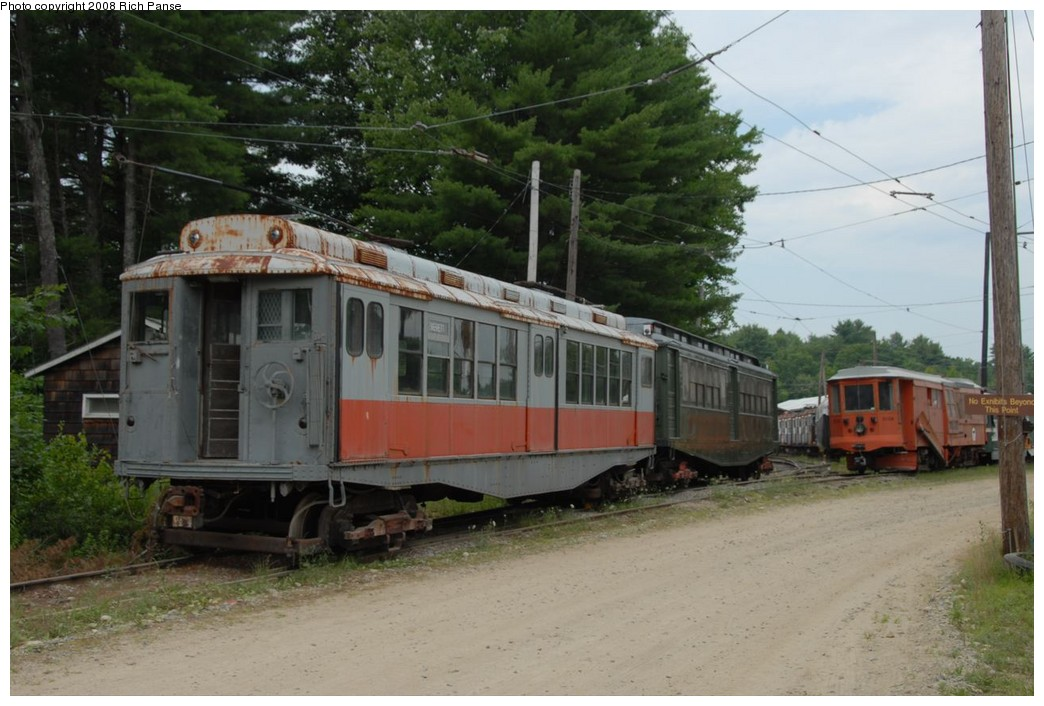 (204k, 1044x706)<br><b>Country:</b> United States<br><b>City:</b> Kennebunk, ME<br><b>System:</b> Seashore Trolley Museum <br><b>Photo by:</b> Richard Panse<br><b>Date:</b> 7/18/2008<br><b>Viewed (this week/total):</b> 1 / 1678