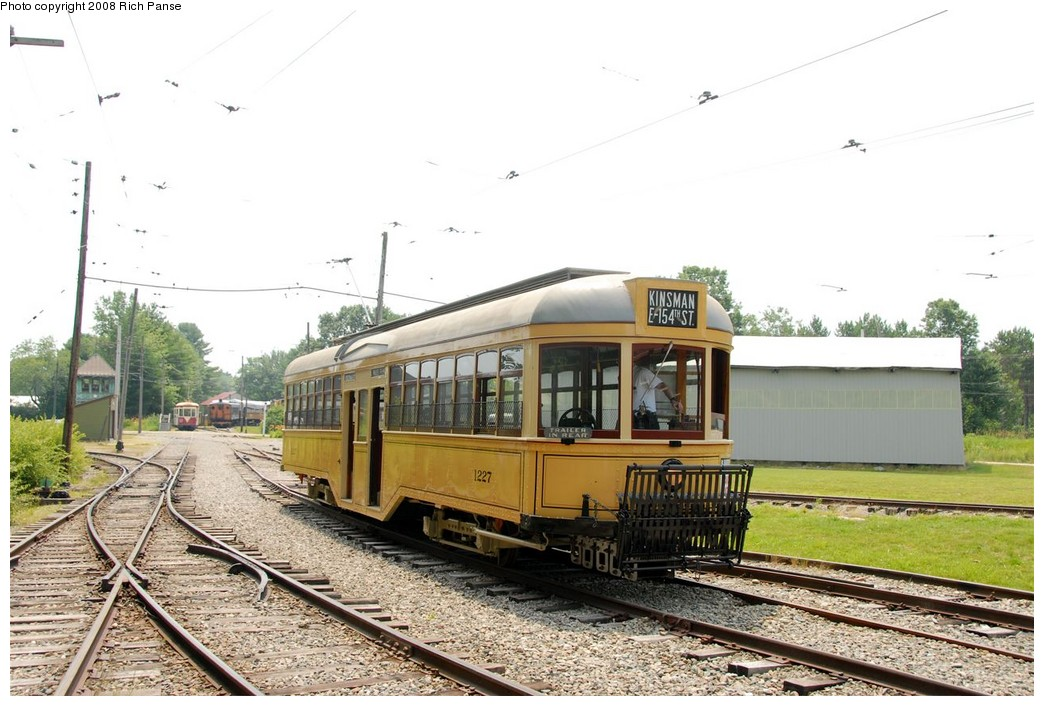 (191k, 1044x706)<br><b>Country:</b> United States<br><b>City:</b> Kennebunk, ME<br><b>System:</b> Seashore Trolley Museum <br><b>Car:</b>  1227 <br><b>Photo by:</b> Richard Panse<br><b>Date:</b> 7/18/2008<br><b>Viewed (this week/total):</b> 2 / 492