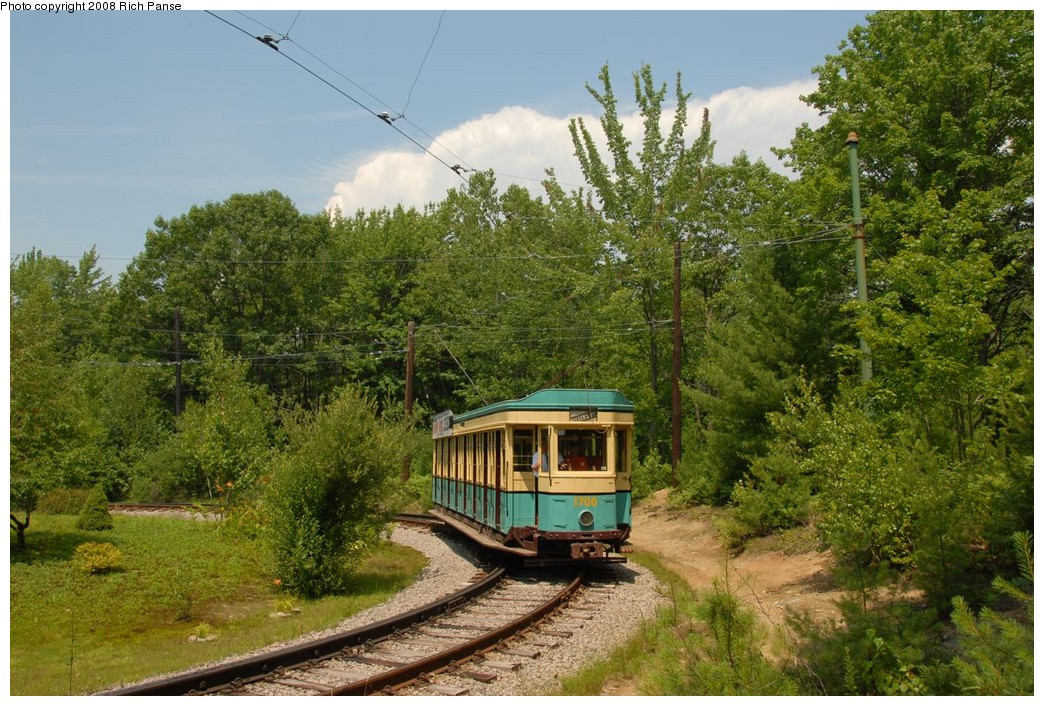 (292k, 1044x706)<br><b>Country:</b> United States<br><b>City:</b> Kennebunk, ME<br><b>System:</b> Seashore Trolley Museum <br><b>Car:</b>  1700 <br><b>Photo by:</b> Richard Panse<br><b>Date:</b> 7/18/2008<br><b>Viewed (this week/total):</b> 1 / 276