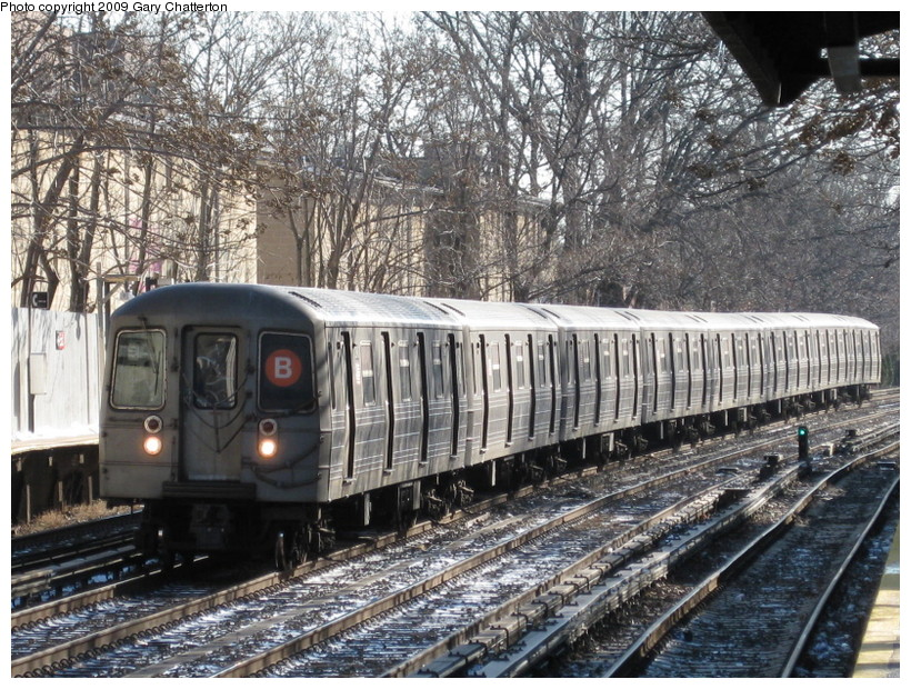(222k, 820x620)<br><b>Country:</b> United States<br><b>City:</b> New York<br><b>System:</b> New York City Transit<br><b>Line:</b> BMT Brighton Line<br><b>Location:</b> Avenue H <br><b>Route:</b> B<br><b>Car:</b> R-68 (Westinghouse-Amrail, 1986-1988)  2846 <br><b>Photo by:</b> Gary Chatterton<br><b>Date:</b> 1/12/2009<br><b>Viewed (this week/total):</b> 1 / 748