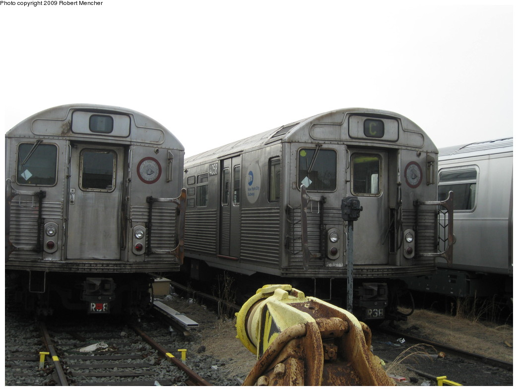 (169k, 1044x788)<br><b>Country:</b> United States<br><b>City:</b> New York<br><b>System:</b> New York City Transit<br><b>Location:</b> 207th Street Yard<br><b>Car:</b> R-38 (St. Louis, 1966-1967)  4058 <br><b>Photo by:</b> Robert Mencher<br><b>Date:</b> 3/7/2009<br><b>Viewed (this week/total):</b> 4 / 827