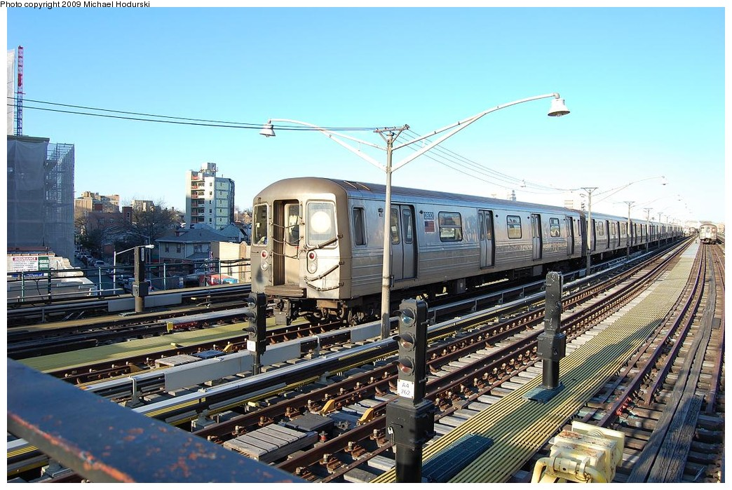 (270k, 1044x699)<br><b>Country:</b> United States<br><b>City:</b> New York<br><b>System:</b> New York City Transit<br><b>Line:</b> BMT Brighton Line<br><b>Location:</b> Ocean Parkway <br><b>Route:</b> B layup<br><b>Car:</b> R-68 (Westinghouse-Amrail, 1986-1988)  2832 <br><b>Photo by:</b> Michael Hodurski<br><b>Date:</b> 3/22/2008<br><b>Viewed (this week/total):</b> 0 / 1184