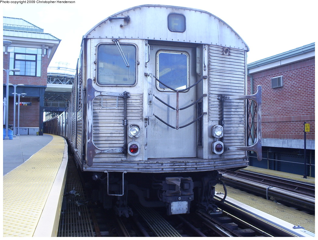 (300k, 1044x788)<br><b>Country:</b> United States<br><b>City:</b> New York<br><b>System:</b> New York City Transit<br><b>Location:</b> Coney Island/Stillwell Avenue<br><b>Route:</b> F<br><b>Car:</b> R-32 (Budd, 1964)  3607 <br><b>Photo by:</b> Christopher Henderson<br><b>Date:</b> 3/30/2009<br><b>Viewed (this week/total):</b> 4 / 1394