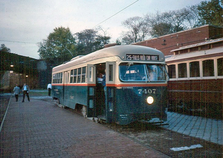 (126k, 731x519)<br><b>Country:</b> United States<br><b>City:</b> Baltimore, MD<br><b>System:</b> Baltimore Streetcar Museum <br><b>Car:</b>  7407 <br><b>Photo by:</b> Brian J. Cudahy<br><b>Viewed (this week/total):</b> 1 / 293