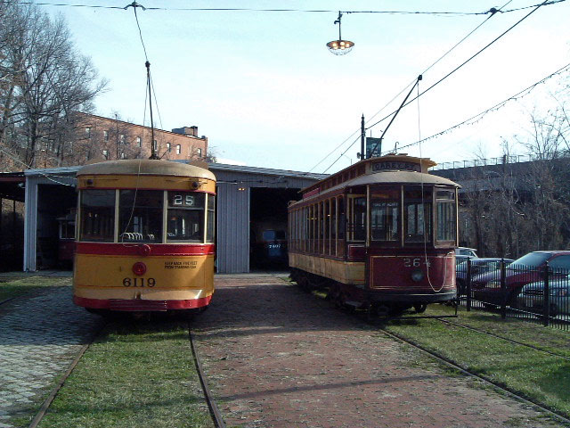 (119k, 640x480)<br><b>Country:</b> United States<br><b>City:</b> Baltimore, MD<br><b>System:</b> Baltimore Streetcar Museum <br><b>Car:</b>  6119/264 <br><b>Photo by:</b> Brian J. Cudahy<br><b>Date:</b> 1/15/2004<br><b>Viewed (this week/total):</b> 2 / 202