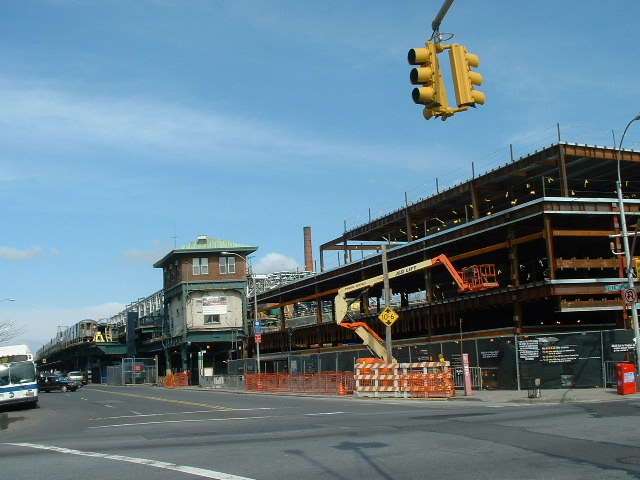 (130k, 640x480)<br><b>Country:</b> United States<br><b>City:</b> New York<br><b>System:</b> New York City Transit<br><b>Location:</b> Coney Island/Stillwell Avenue<br><b>Photo by:</b> Brian J. Cudahy<br><b>Date:</b> 3/10/2004<br><b>Notes:</b> Stillwell Ave. reconstruction<br><b>Viewed (this week/total):</b> 0 / 611