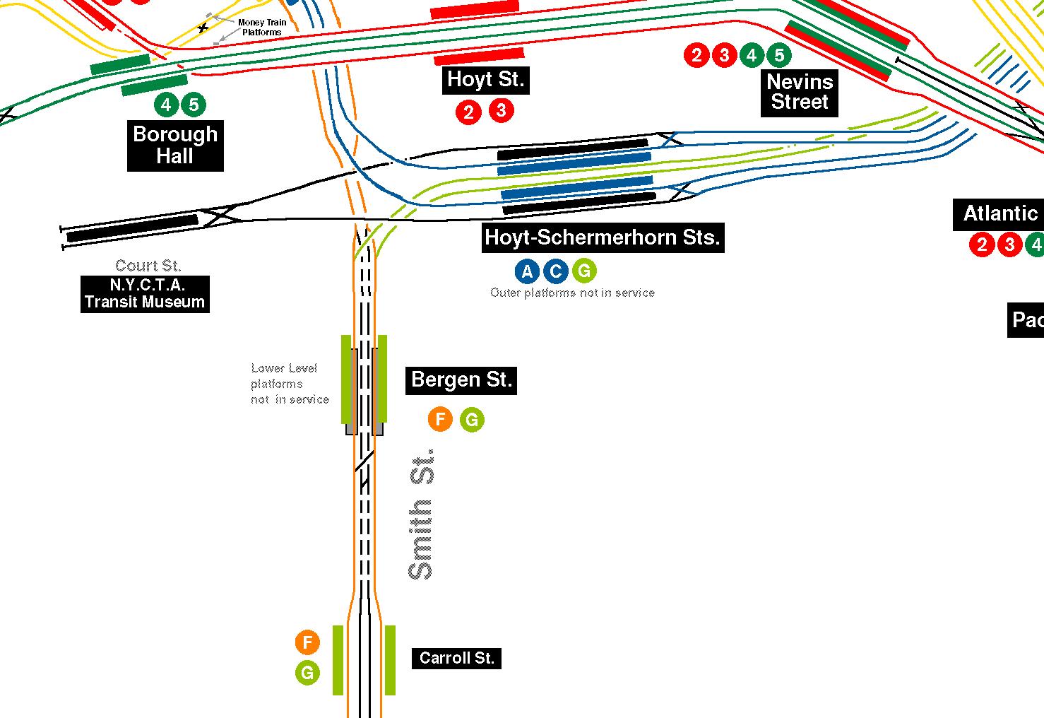 Wwwnycsubwayorg IND Fulton Street Line - Nyc subway map j train